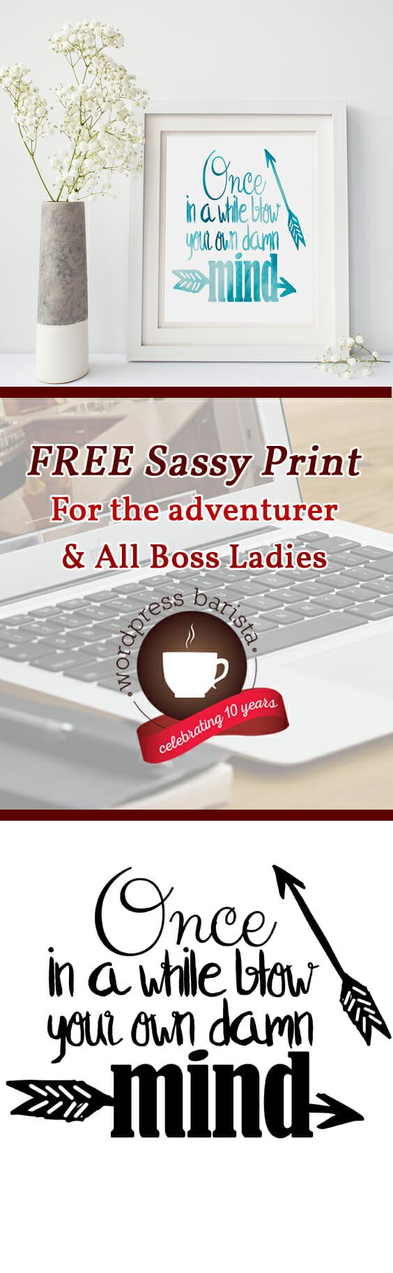 Free Sassy Prints