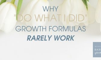 Why -Do what I did- Growth Formulas Rarely Work (5)