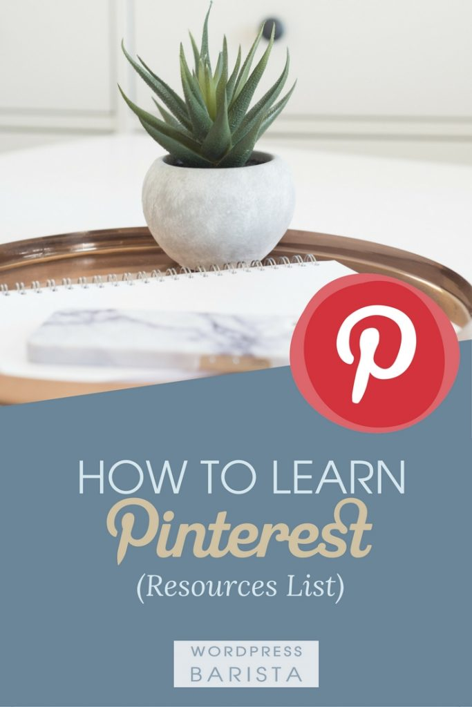 Learn Pinterest Resources List