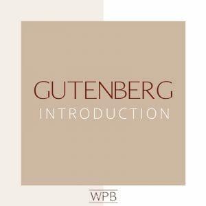 Gutenberg Introduction